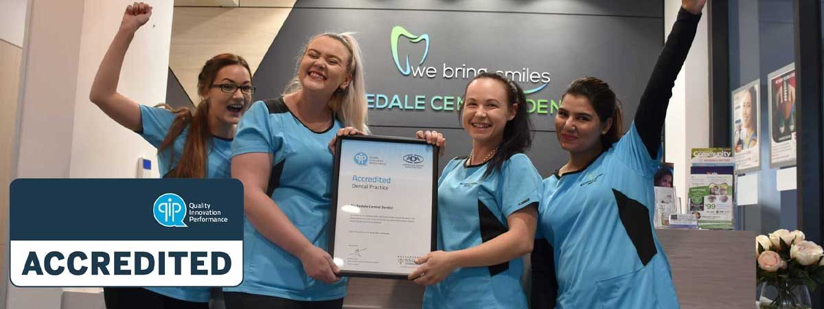 Quality Innovation Performance (QIP) accredited dental clinic